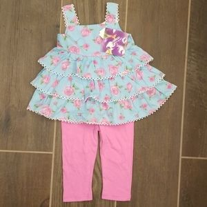 2T Cabbage Rose Outfit